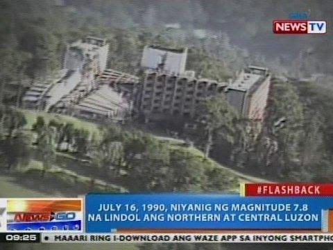 NTG Flashback July 16 1990 Niyanig Ng Magnitude 78