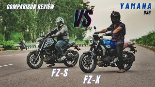 Yamaha Fz-X Vs Yamaha Fz-s Which one is best?   Comparison Review   Ksc Vlogs