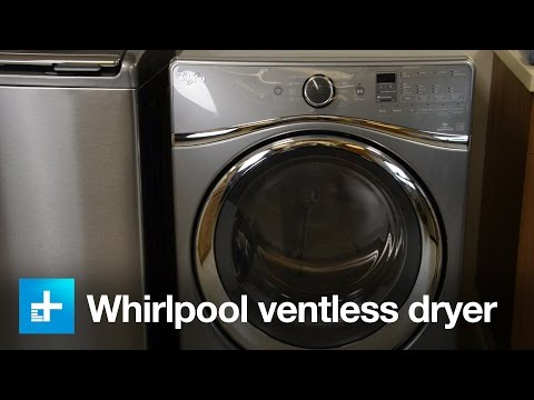 Whirlpool ventless dryer WED99HEDCO - Hands on