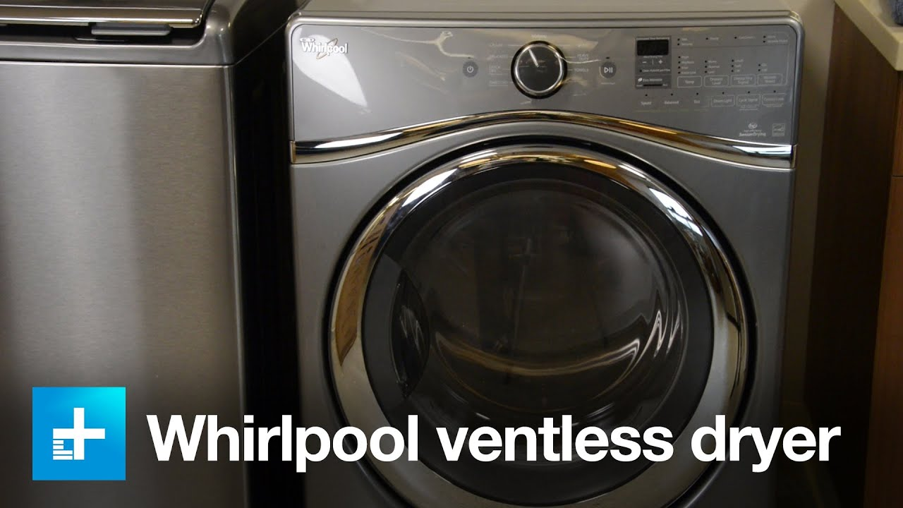 Whirlpool Ventless Dryer Wed99hedco Hands On