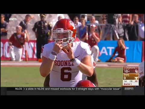 2017 - Oklahoma Sooners at Texas Longhorns in 40 Minutes
