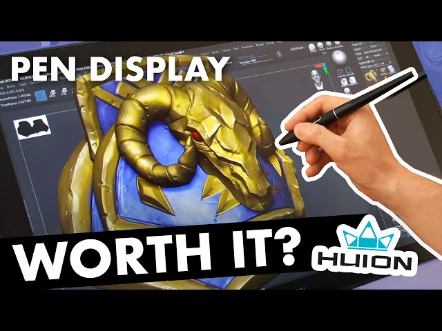 Is a Pen Display Worth It for 3D Sculpting