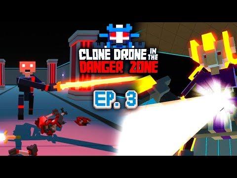 РОБОТЫ КОТОРЫЕ СПАСЛИ ЗЕМЛЮ Clone Drone In The Danger Zone EPISODE 3