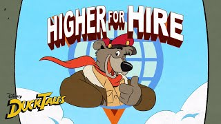 Higher for Hire Reunion | DuckTales | Disney XD