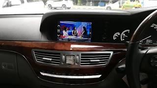 BENZ W221 เพิ่ม TV/Mirror Link/ลำโพง By Varith