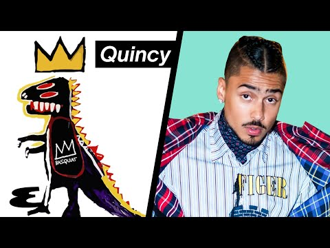 Quincy Shows His Home Sneaker Wall | Curated | Esquire