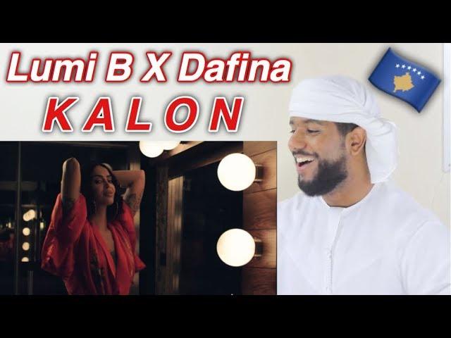 ARAB REACTION TO ALBANIAN MUSIC BY Lumi B x Dafina - Kalon **BEAUTIFUL**