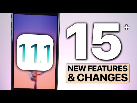 iOS 11.1 Beta 1 Released! 15+ Features & Changes!