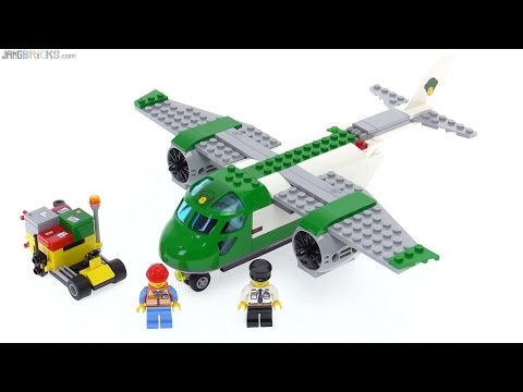 LEGO City Airport Cargo Plane review! 60101 - YouTube