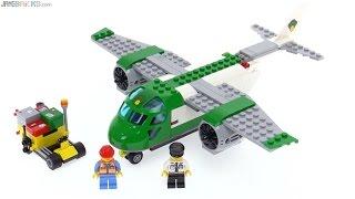 LEGO City Airport Cargo Plane review! 60101