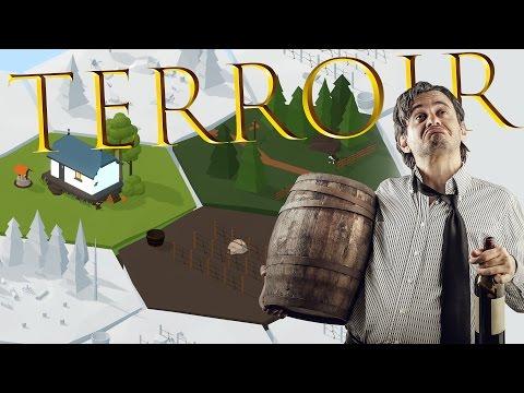 Terroir - A Wine Making Tycoon Game! - 5 Star Wine! - DG Vineyards - Terroir Gameplay Highlights #1