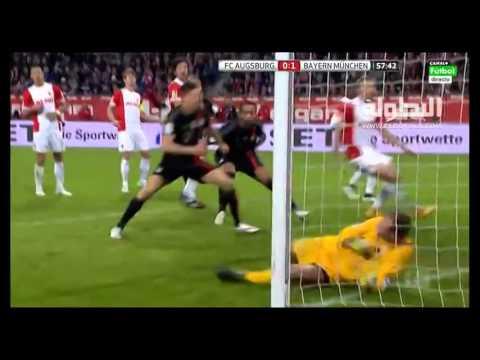 Premier but du défenseur international marocain avec son club Bayern Munchen e V en Bundesliga