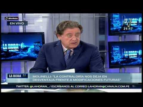 """Fiorella Molinelli del MTC: """"Informe de Contraloría es netamente político"""""""