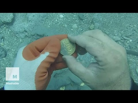 Treasure Hunter Finds $1 Million of Gold 300 Years After Shi