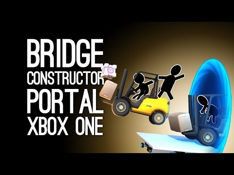 Bridge Constructor Portal Gameplay: Let's Play Bridge Constructor Portal