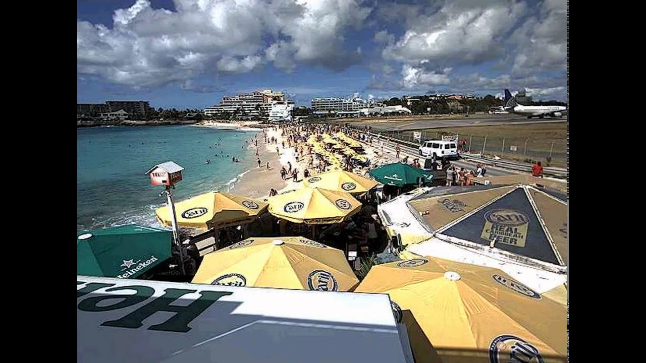 Amazing St Maarten Live Webcam   Sample Flights (webcam Capture)