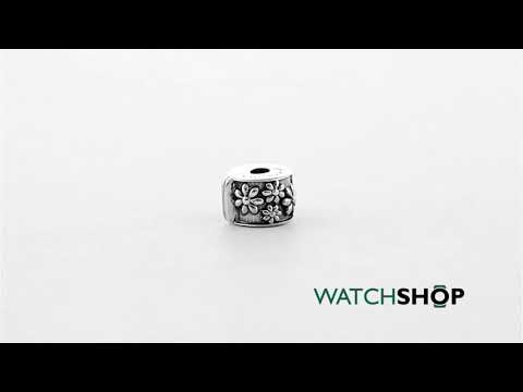 Persona Ladies' Sterling Silver Daisy Lock Bead (H12241P1)