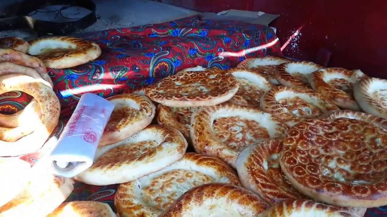 Узбекский тандыр -- хлебзавод на дому - YouTube