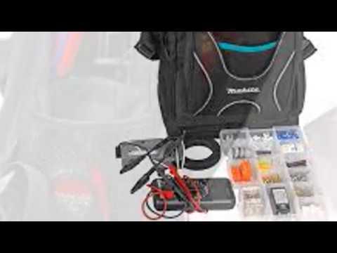 Makita Professional Tool Rucksack Toolbag Backpack Tool Bag Organiser P-72017