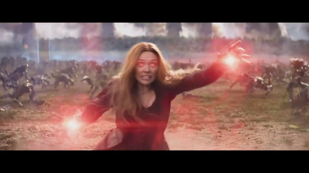 Scarlet Witch - All Powers HD