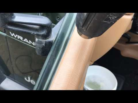 Repair faded vehicle plastics with a heat gun – SAVE YOUR MONEY