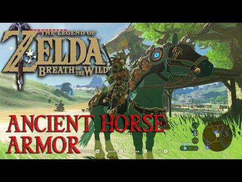 ANCIENT HORSE ARMOR - Zelda: Breath of the Wild