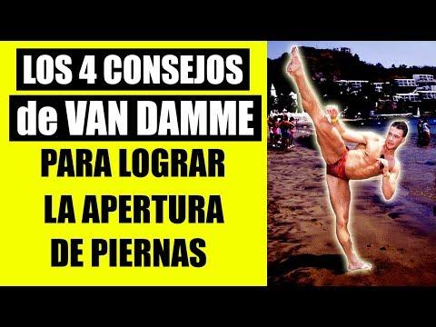 4 CONSEJOS DE VAN DAMME PARA ABRIRTE DE PIERNAS Y SUS EJERCICIOS FAVORITOS