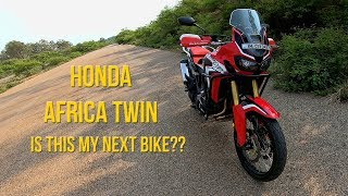 250 CCian Riding Africa Twin for the First Time - Is this my Next Upgrade ?