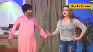 Sajan Abbas And Khushboo New Pakistani Stage Drama Shurli Full Comedy Clip 2018   YouTube