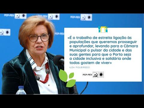 Ilda Figueiredo: Apresentação da Candidatura da CDU à Câmara Municipal do Porto