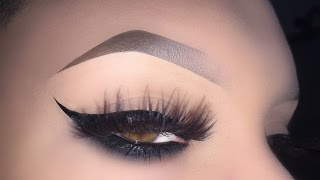 How to Perfect Eyebrows Tutorial (Perfect for hairless, chemo, shaved brows)  New Eyebrow Routine