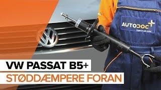 Udskiftning af Støddæmper VW PASSAT: værkstedshåndbog