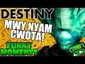 Destiny Funny Moments Ep.43 WEIRDEST QUESTION! MWY NYAM CWOTA!