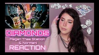 DIAMONDS - Megan Thee Stallion & Normani (Birds of Prey: The Album) REACTION