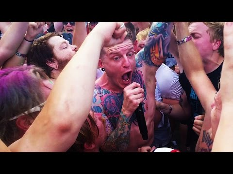 Atreyu- Lip Gloss And Black (live Vans Warped Tour 2016)