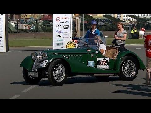 شاهد: سباق خاص بالسيارات القديمة جدا والأصلية في روسيا  - نشر قبل 25 دقيقة