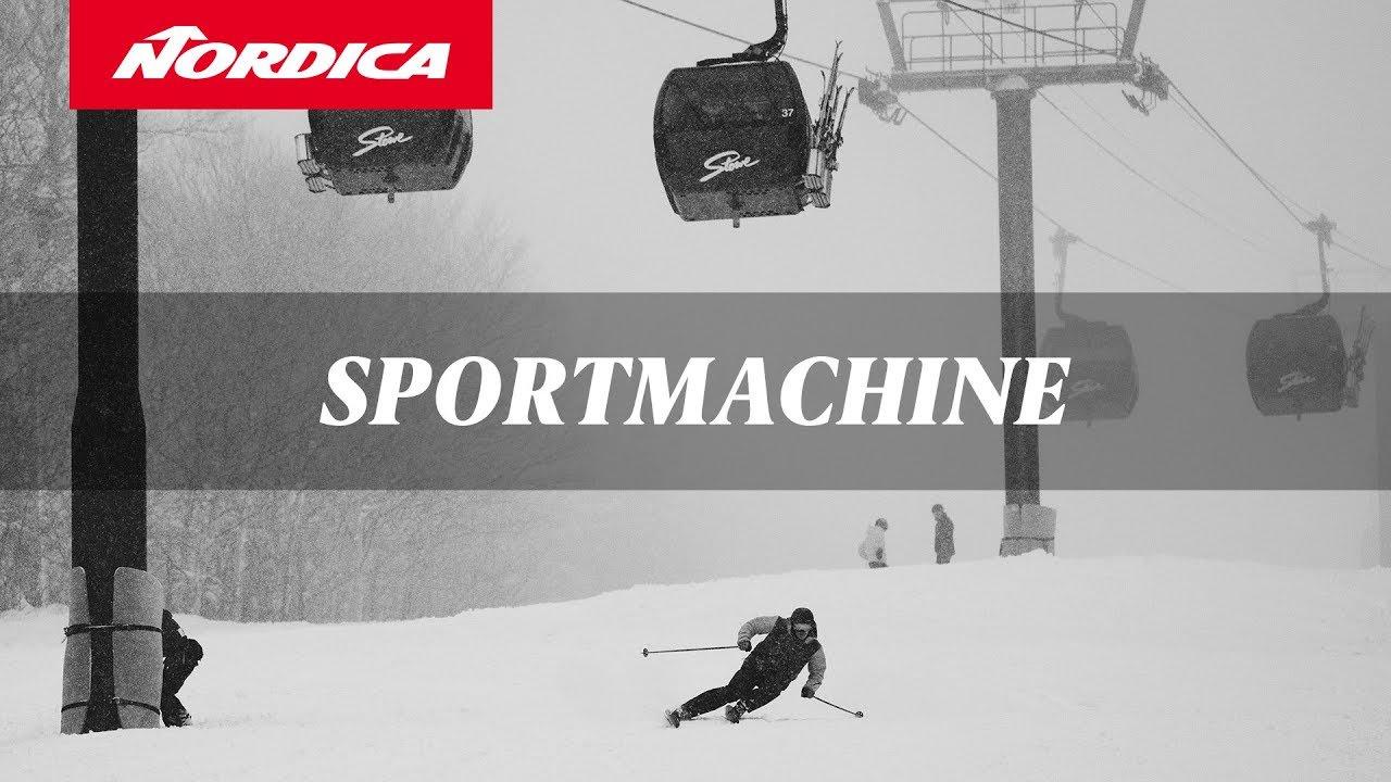 272aa6c2998 Nordica SPORTMACHINE Boots 2019 - YouTube