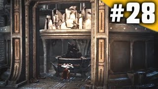 God of War 4 Ascension Walkthrough Part 28 - The Furnace Puzzle [GoW 4]