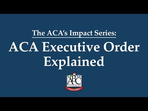 ACA Executive Order Explained | HealthWatch Wisconsin & ABC for Health