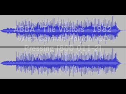 ABBA The Visitors - 1982 West German Polydor CD Version [800