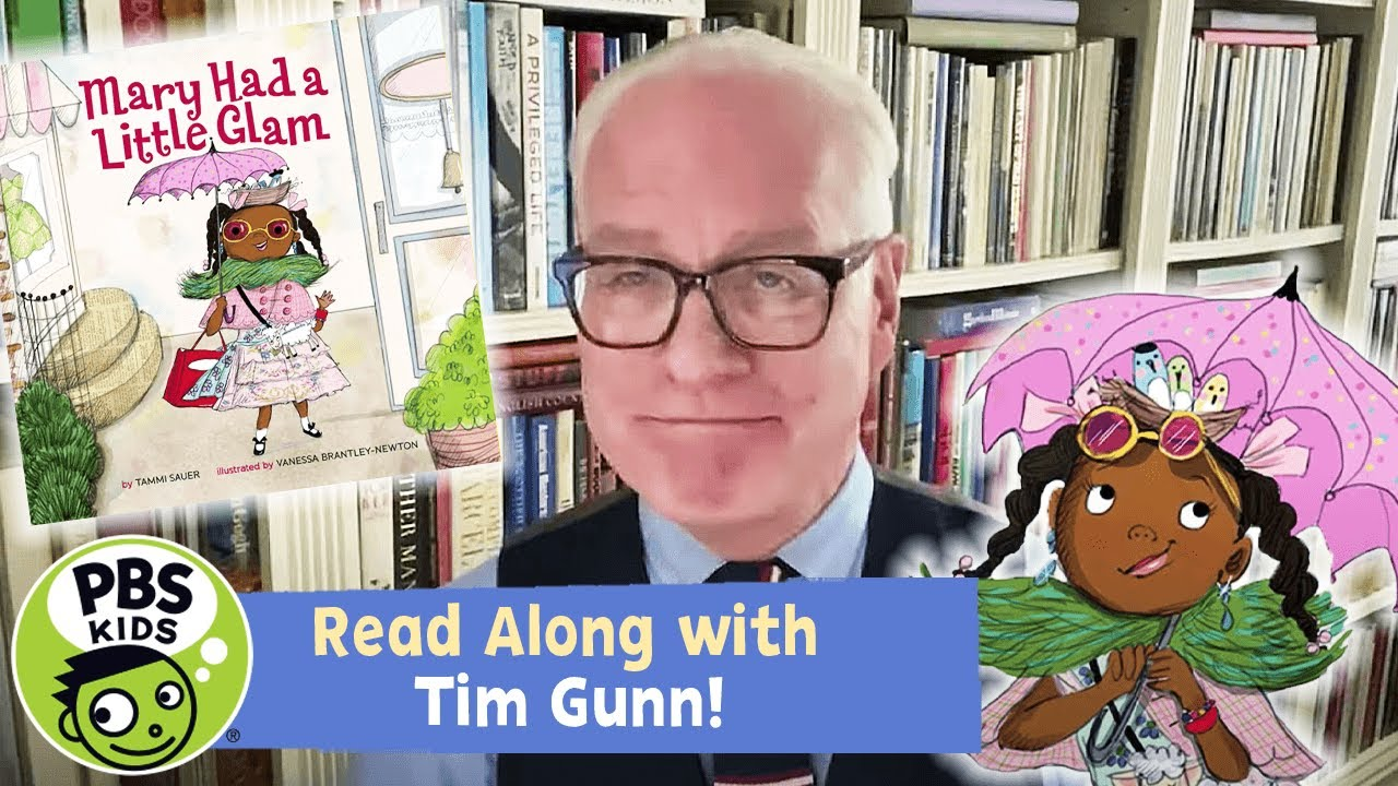 READ ALONG with TIM GUNN! | Mary Had a Little Glam
