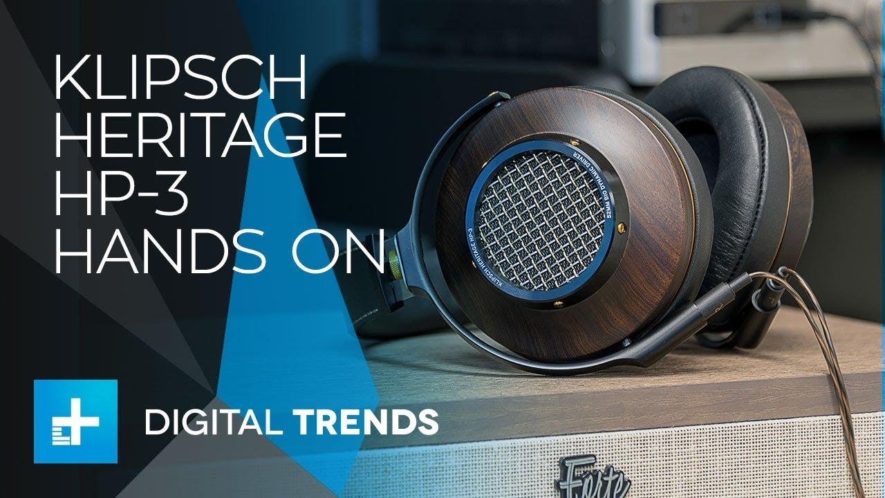 Klipsch Heritage HP-3 Headphones – Hands On Review