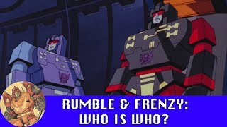 Rumble & Frenzy: Who is who?