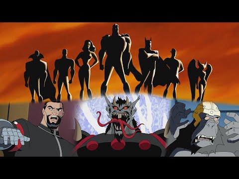 Лига справедливости мультфильм все сезоны