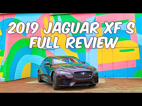 The 2019 Jaguar XF S is fast, roomy, and looks great! It's also expensive. So what's not to like?