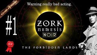 Zork Nemesis The forgotten lands Noir
