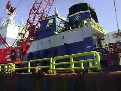 Offshore Job - Transfer Crew From Globale Seminole To CB. Ramunia Ocean 1 with Basket case