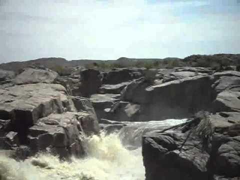orange river. augrabies falls, rsa