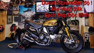 Ducati Scrambler 800 mạ vàng 24k Sạch Đẹp Độc Đỉnh. Tưởng khó mà dễ,dễ mà lại khó ! Kỹ Sư Hẻm độ xe!