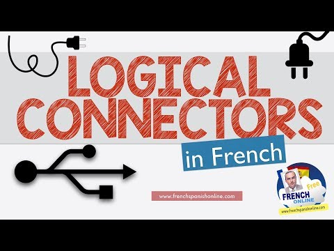 French logical connectors